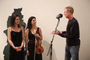 Duo Gazzana, with host John Schaefer